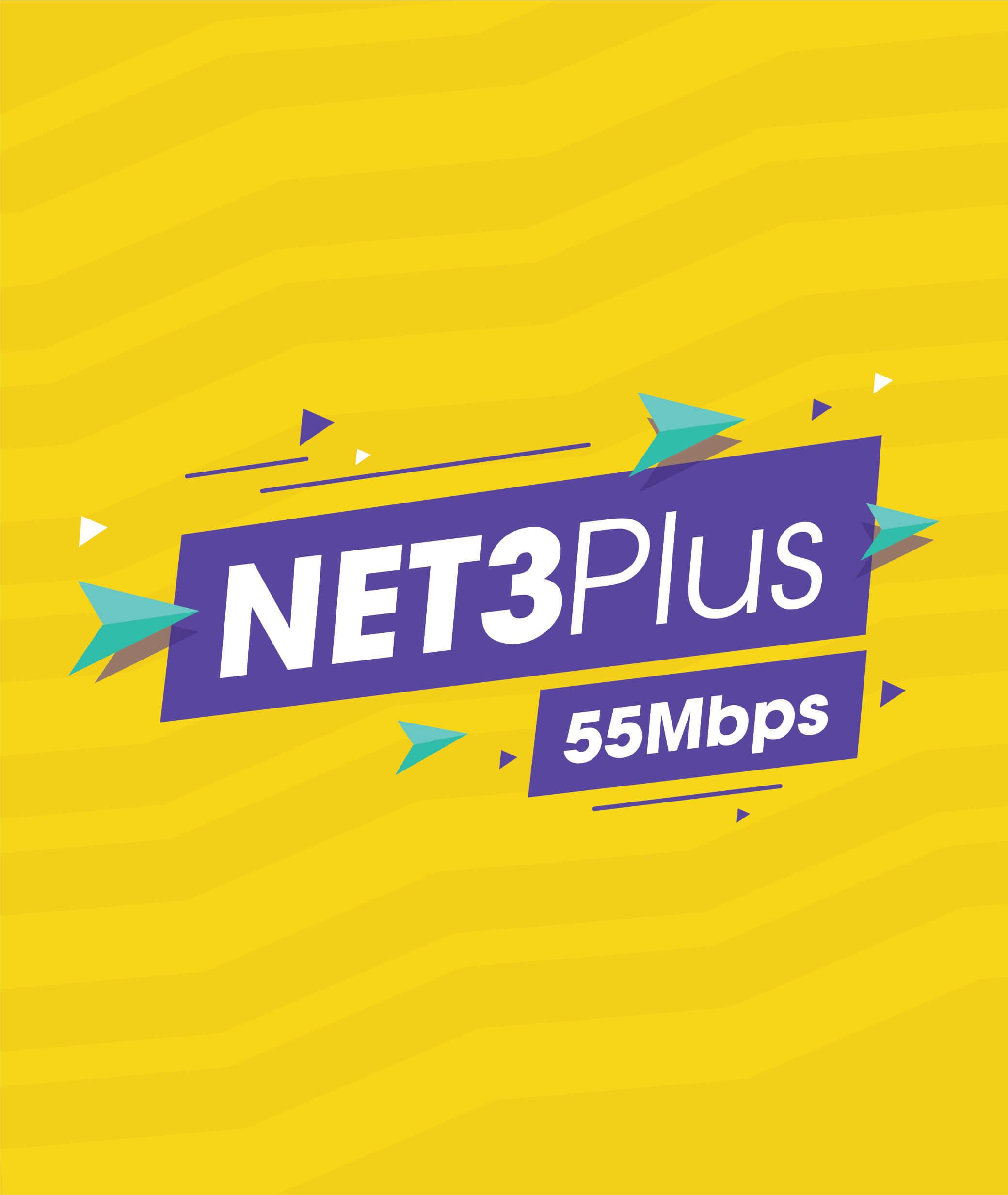 gói net 3 plus mới
